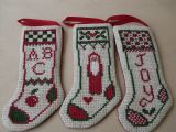 Old Fashioned Stocking set now also in Welsh!